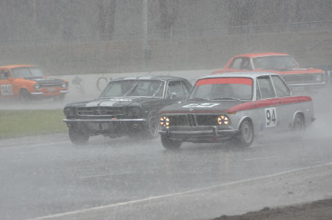 A wet turn 7